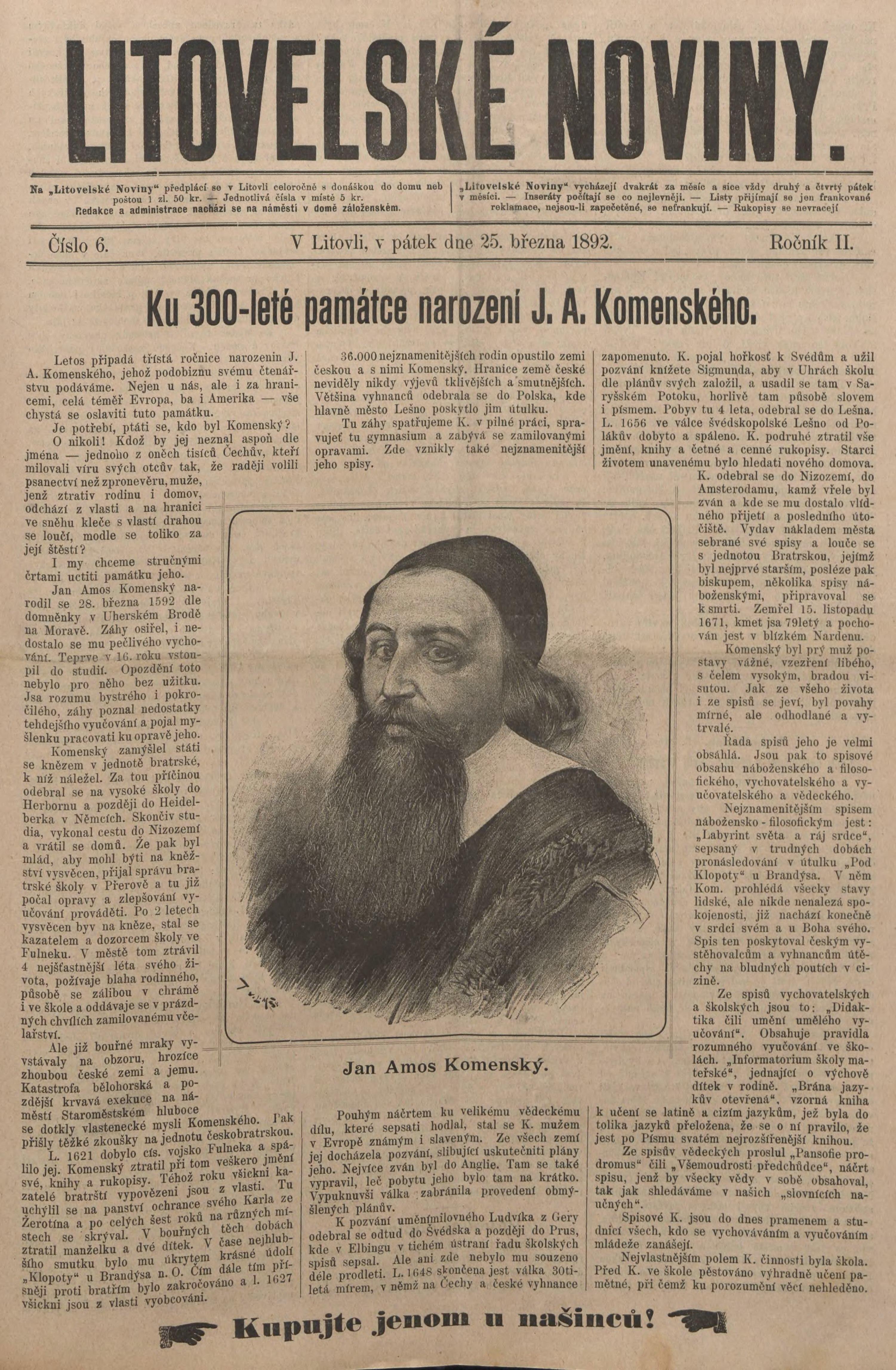 File Litovelské Noviny 1892 6 Djvu