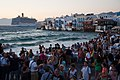 Little Venice quay flooded with tourists. Mykonos island. Cyclades, Agean Sea, Greece.jpg