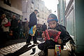 Little accordion, Rue Mouffetard, Paris 2013.jpg
