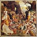 Livio agresti, storie eucaristiche e personaggi dell'antico testamento, caduta della manna, dal duomo di forlì.jpg