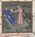 Livre du Voir Dit - Guillaume de Machaut et messager de sa dame.jpg