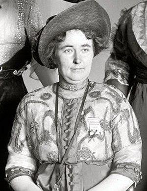 Lizzy Lind af Hageby - Lizzy Lind af Hageby, December 1913.