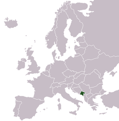 Montenegro On Europe Map.Montenegro Wikibooks Open Books For An Open World