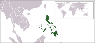 Outline of the Philippines - The location of the Philippines