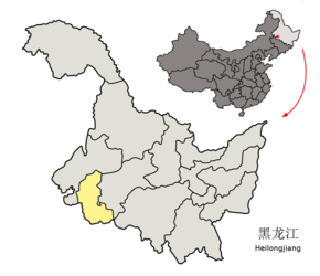 Location of Daqing Prefecture within Heilongjiang (China).png