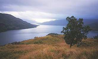 Loch Katrine - Above Stronachlachar, looking eastward along the length of the loch