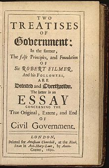 two treatises of government wikipedia