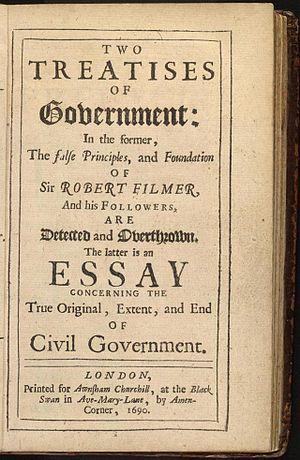 Dos tratados sobre el gobierno civil