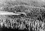 Lockheed PV-2 Harpoon spraying spruce bud worm - Kaibab National Forest.jpg