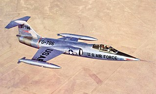 Lockheed XF-104 Starfighter Experimental fighter aircraft