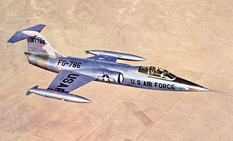 Lockheed F-104 Starfighter - The XF-104 Starfighter prototype