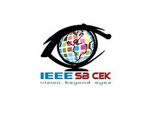 College of Engineering Karunagappally - IEEE SB CEK Logo