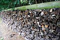 Logs at Pyrton Hill House - geograph.org.uk - 1435265.jpg