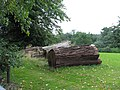 Logs in Dingley Park - geograph.org.uk - 230254.jpg