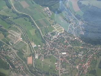 Waldshut-Tiengen - Aerial view of Gurtweil