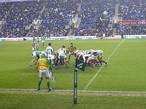 London Irish - A match v Ulster in 2006.