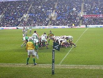London Irish - A match v Ulster in 2006.