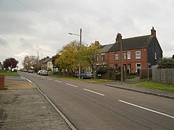 London Road, Bozeat, looking South - geograph.org.uk - 282737.jpg