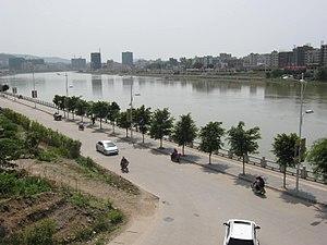 Longchuan County, Guangdong - Image: Long Chuan
