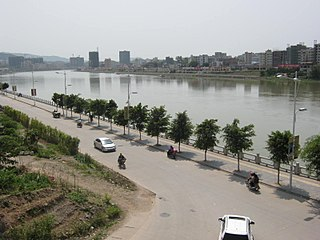 Longchuan County, Guangdong County in Guangdong, Peoples Republic of China