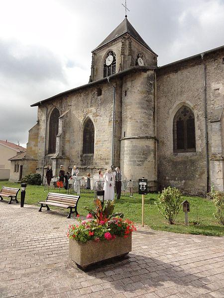 Longeville-en-Barrois (Meuse) église