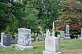 Looking NE across section D - Glenwood Cemetery - 2014-09-14.jpg