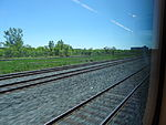 Looking out the left window on a trip from Union to Pearson, 2015 06 06 A (422) (18454367038).jpg