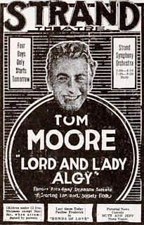 <i>Lord and Lady Algy</i> (film) 1919 film by Harry Beaumont