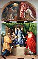 Lorenzo lotto, madonna delle rose, 1526, 01.jpg