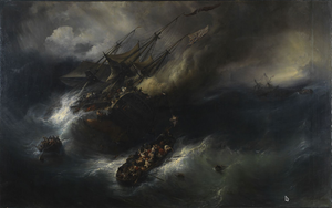 Kent (1820 EIC ship) - Loss of the Kent, Théodore Gudin, Musée national de la Marine, Paris