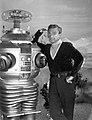Lost in Space Jonathan Harris & Robot 1967.jpg