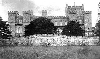 River Irvine - Loudoun Castle, Galston in the 1890s