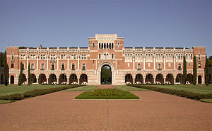 16th G7 summit - Lovett Hall at Rice University in Houston