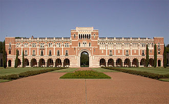 16th G7 summit - Lovett Hall at Rice University in Houston
