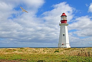 Low Point Lighthouse lighthouse in Nova Scotia, Canada