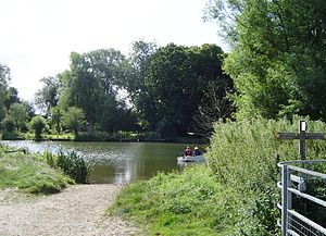 South Stoke, Oxfordshire - Site of Little Stoke ferry from the Cholsey side