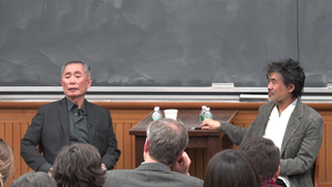 David Henry Hwang - David Henry Hwang and George Takei discussing Allegiance  at Columbia University in late 2015
