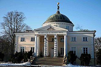 Stanisław Zawadzki - Palace in Lubostroń