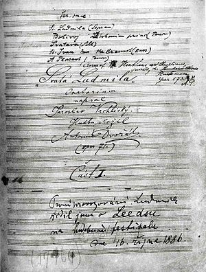 Saint Ludmila (oratorio)