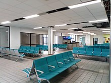 The Waiting area for Gate D2
