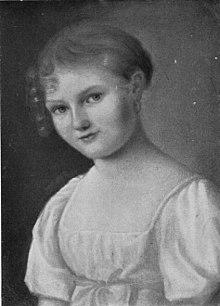 Self-portrait of Louise Seidler (Source: Wikimedia)