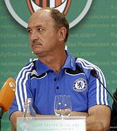 Luiz Felipe Scolari al Chelsea nel 2008