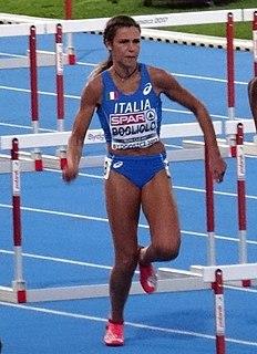 Luminosa Bogliolo Italian hurdler