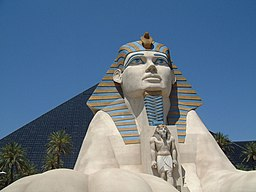 Luxor Pyramid & Sphinx in Las Vegas (Day) (870108724)