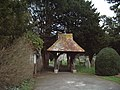 Lychgate, Holy Trinity Church, Wonston - geograph.org.uk - 345843.jpg