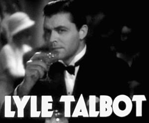 Lyle Talbot - in the trailer for the film  Havana Widows (1933)