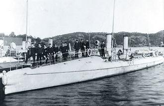 2.-class torpedo boat - Image: Lyn class torpedoboat