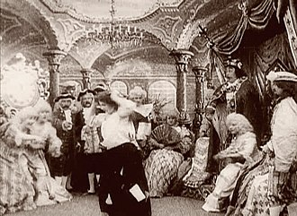 Cinderella (1899 film) - A scene from the film