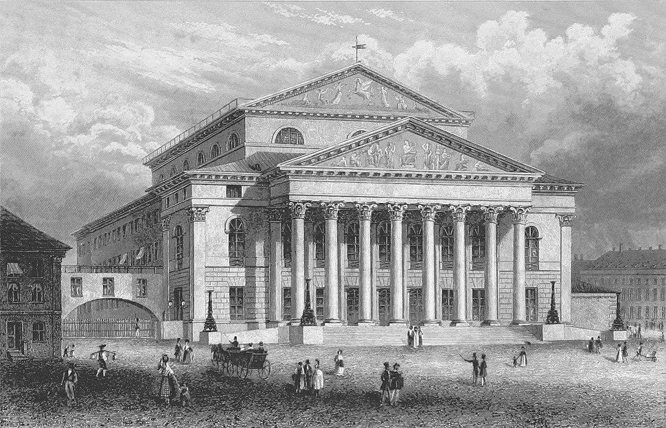 München Nationaltheater Soeltl 1854