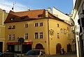 Měšťanský dům U černého křížku (Staré Město), Praha 1, Martinská 5, Staré Město.JPG
